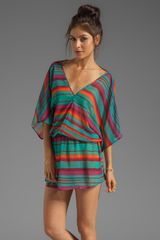 Vix Sofia By Lima Kaftan in Green - Lyst