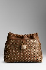 Burberry The Little Crush with Metal Eyelets - Lyst