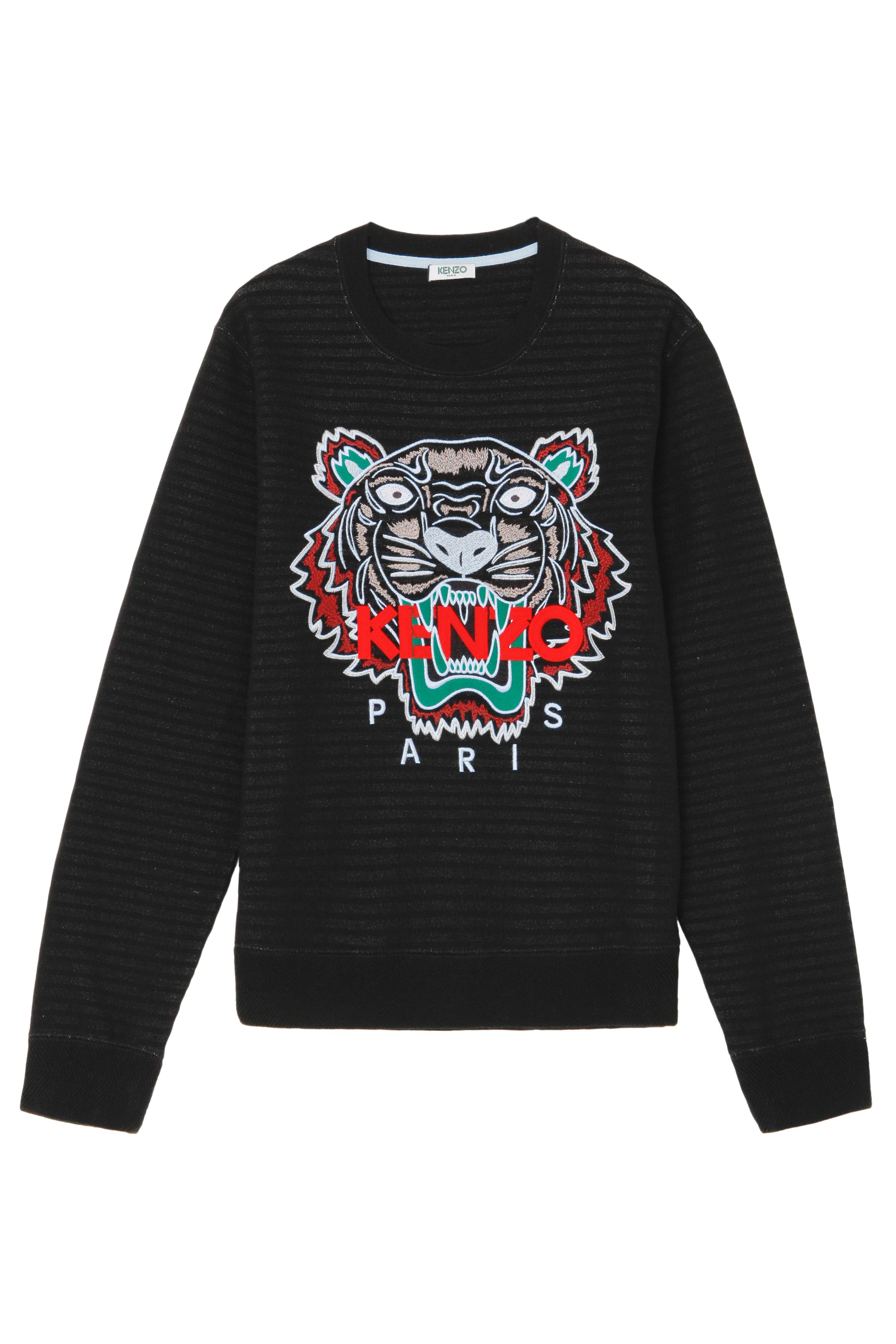 kenzo kenzo tiger embellished sweater in black for men lyst. Black Bedroom Furniture Sets. Home Design Ideas