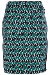 M Missoni Printed Skirt - Lyst