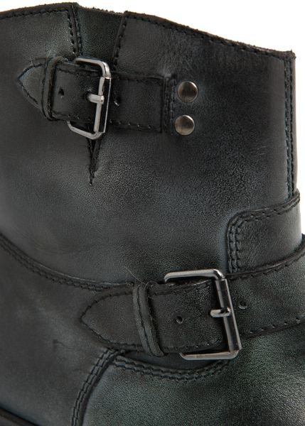Ankle Boots Buckles Buckle Leather Ankle Boots