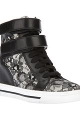 Marc By Marc Jacobs High Top Trainer - Lyst