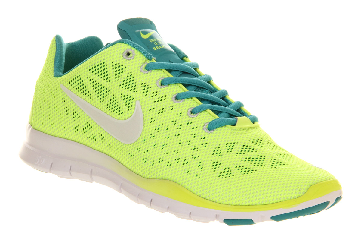 Nike Free Tr Fit 3 Neon Yellow Volt White Hypercool in Yello