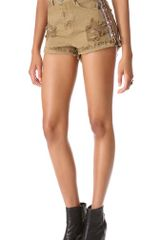 One Teaspoon Buffalo Hawk Shorts - Lyst