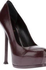 Yves Saint Laurent Tribtoo Pump - Lyst