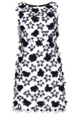 Alice + Olivia Mackynzie 3d Floral Dress - Lyst