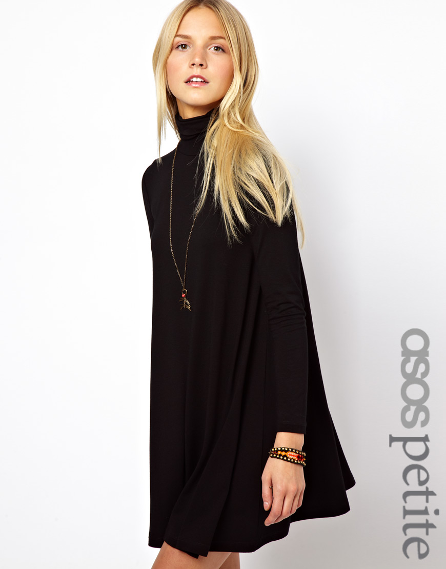 Black dress with sleeves asos