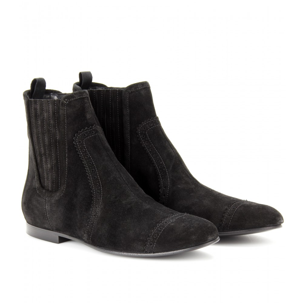 Balenciaga Suede Ankle Boots rpxlW1KwdK