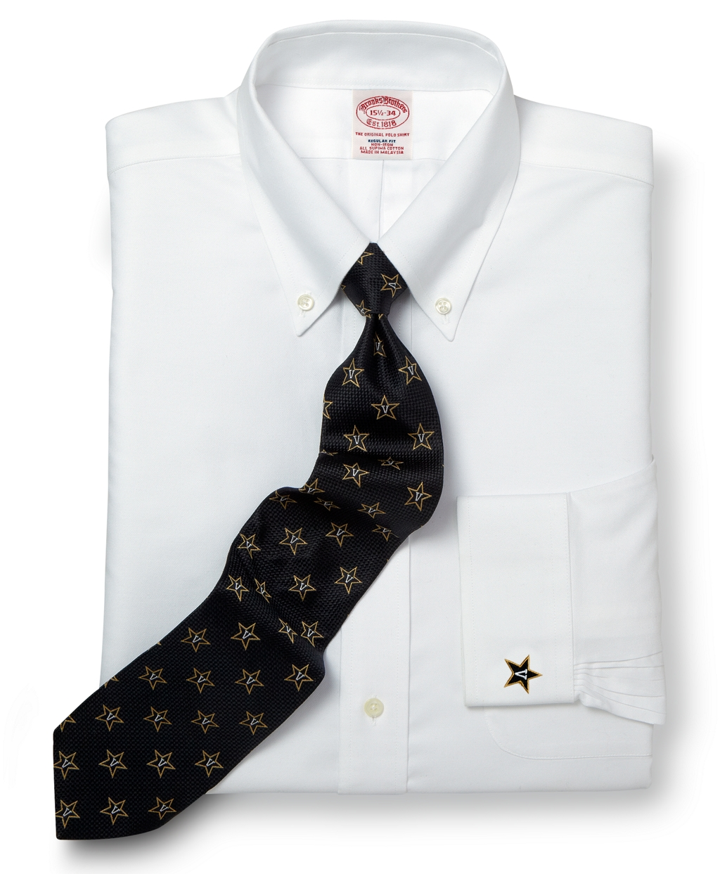 Brooks brothers vanderbilt university all cotton non iron for Brooks brothers non iron shirt review