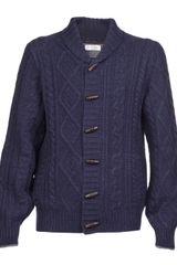 Brunello Cucinelli Cable Knit Cardigan - Lyst