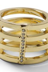 Club Monaco Lunar Stacking Ring - Lyst
