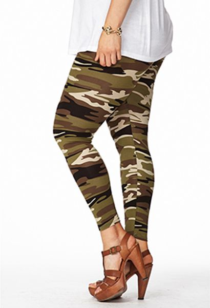 Excellent Forever 21 Drawstring Camo Pants | Lyst