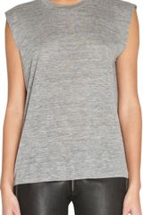 Isabel Marant Sleeveless Tee - Lyst