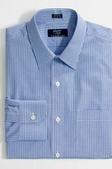 J.Crew Factory Slim Wrinklefree Pointcollar Dress Shirt - Lyst