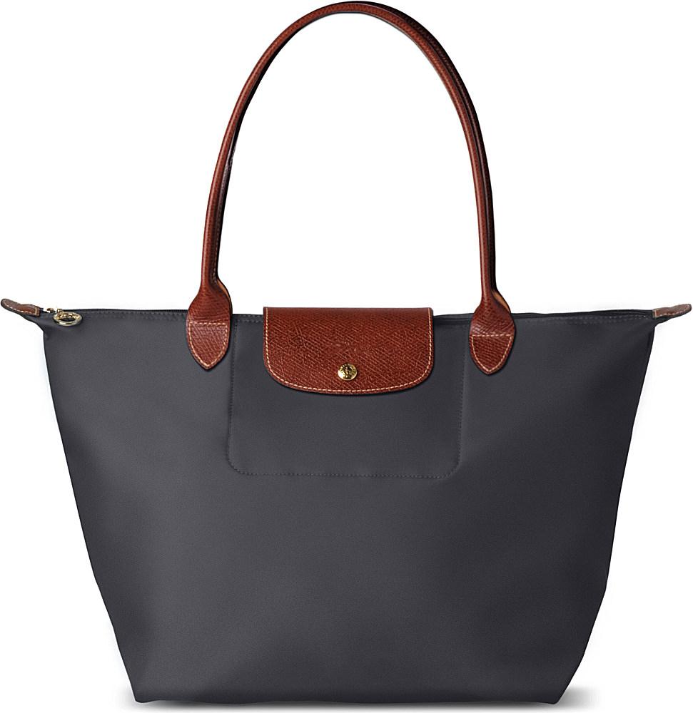 Longchamp Bag Le Pliage Size : Longchamp le pliage large tote bag in blue fusil lyst