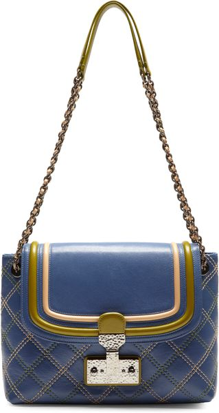 Marc Jacobs The Large Single Baroque Tricolor Shoulder Bag - Lyst
