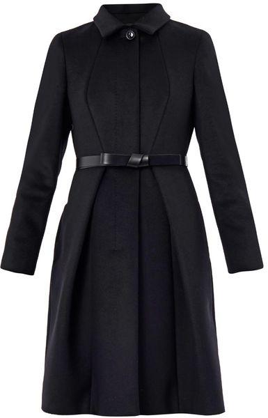 Max Mara Studio Valdez Coat In Black Lyst