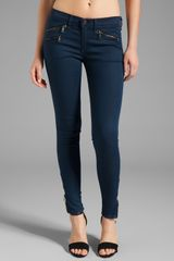 Rag & Bone Mid Rise Zipper Leggings - Lyst