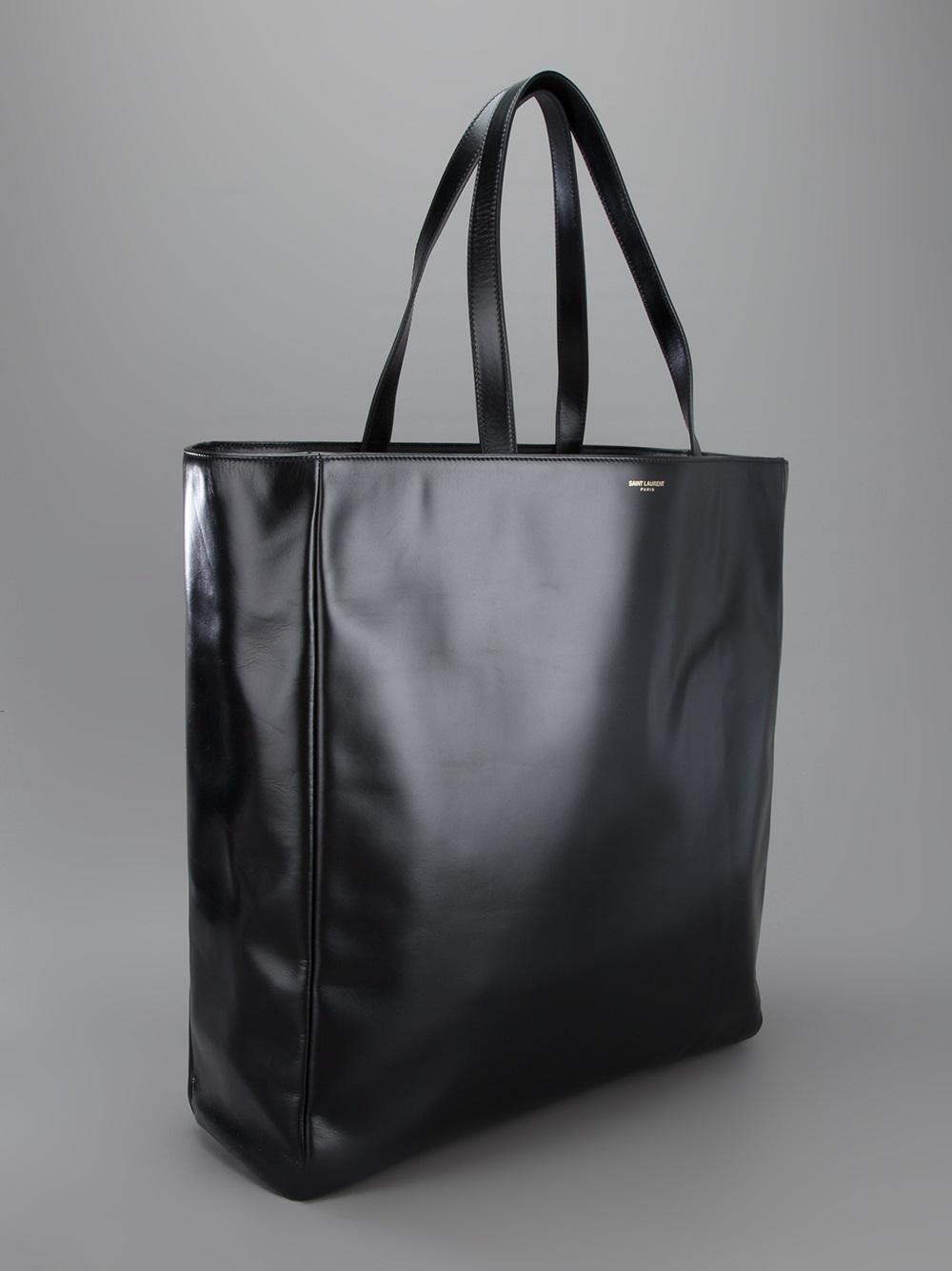 fb469ac23f24 Lyst - Saint Laurent Classic Shopper Tote in Black for Men