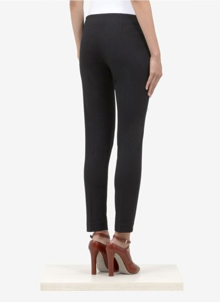 Theory Tixo Jersey Skinny Pants In Black Lyst