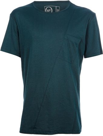 McQ by Alexander McQueen Seam Detailed Tshirt - Lyst