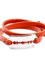 McQ by Alexander McQueen Leather Razor Bracelet - Lyst