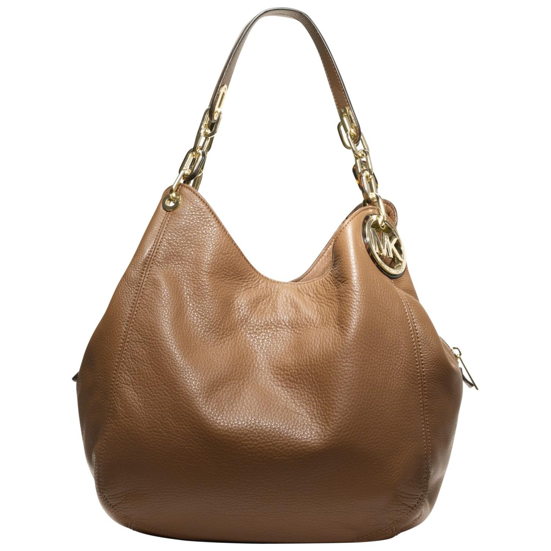1c1180e405a MICHAEL Michael Kors Large Fulton Hobo Bag in Brown - Lyst