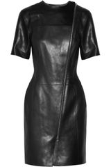 Alexander Wang Leather Dress - Lyst