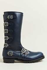Blackmeans Mens Multiple Buckle Boots - Lyst