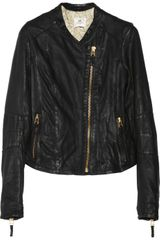Day Birger Et Mikkelsen Day Flore Leather Biker Jacket - Lyst