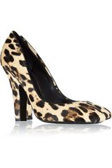 Dolce & Gabbana Leopardprint Calf Hair Pumps - Lyst