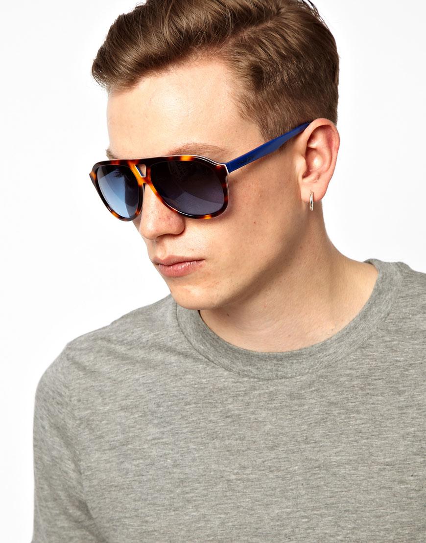 ea4ca1f69f2b Lyst - Oakley Dolce Gabbana Aviator Sunglasses in Brown for Men
