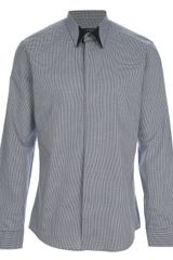 Givenchy Fine Checked Shirt - Lyst