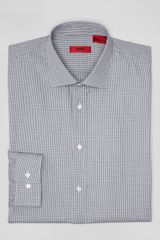 Hugo Boss  Mini Check Dress Shirt in Contemporary Fit - Lyst