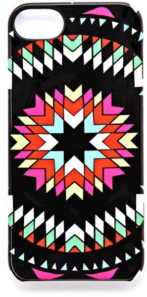 Mara Hoffman Pow Wow Iphone 5 Case in Black - Lyst