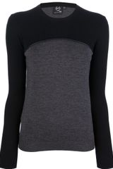 McQ by Alexander McQueen Colour Block Sweater - Lyst