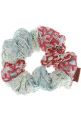 Missoni Crochetknit and Satin Scrunchie - Lyst
