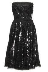 Nina Ricci Sequin Dress - Lyst