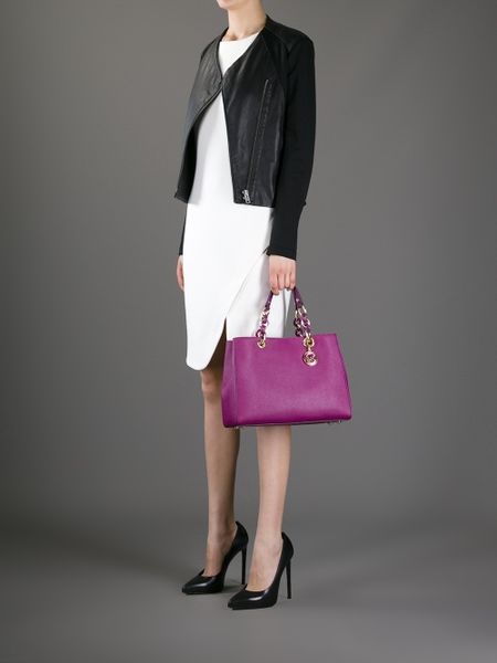 Low Price Michael Kors Cynthia Totes - Bags Michael By Michael Kors Cynthia Tote Gold