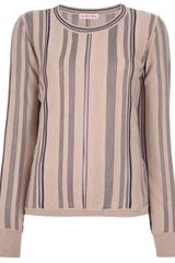 See By Chloé Striped Sweater - Lyst