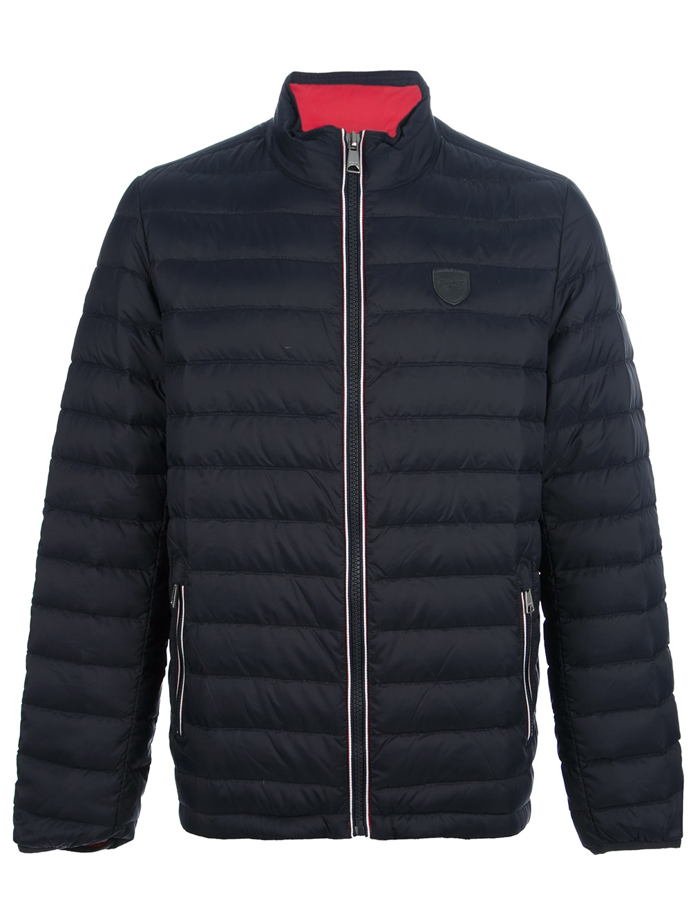 Gant The Down Town Jacket In Blue For Men Lyst