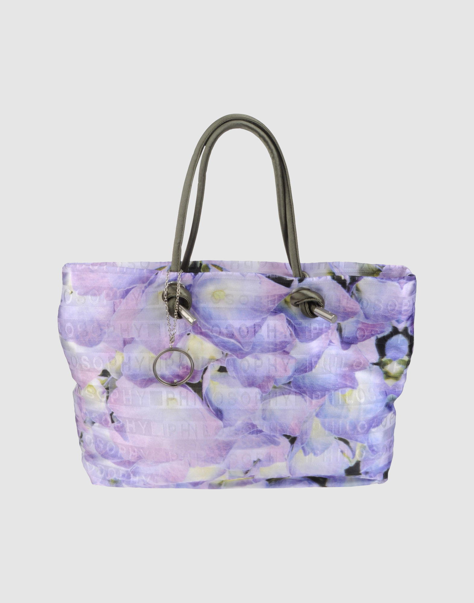 Lyst - Philosophy di Alberta Ferretti Large Fabric Bag in Purple 9379ff75e889f