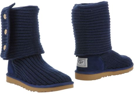 blue ankle ugg boots