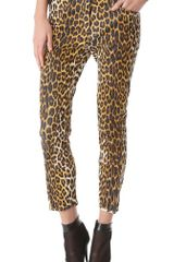 3.1 Phillip Lim Leather Leopard Jodhpurs - Lyst