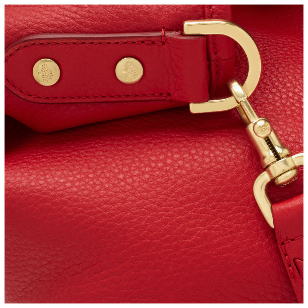 0e419272336a ... Bright Red Spongy Pebbled reputable site c2c4d 83c85  Lyst - Mulberry  Effie Hobo in Red watch 43eed ed5b6 ...