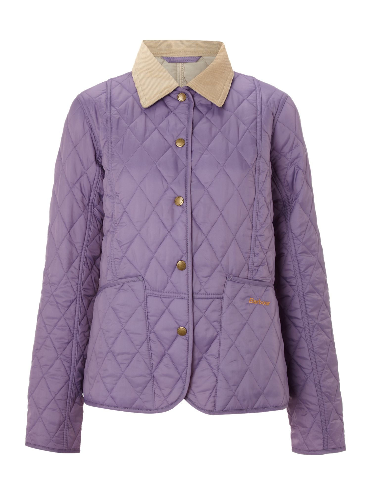 180e5965642 Jacket In Quilted Summer Barbour Purple Liddesdale Lyst xwU0ZanqW