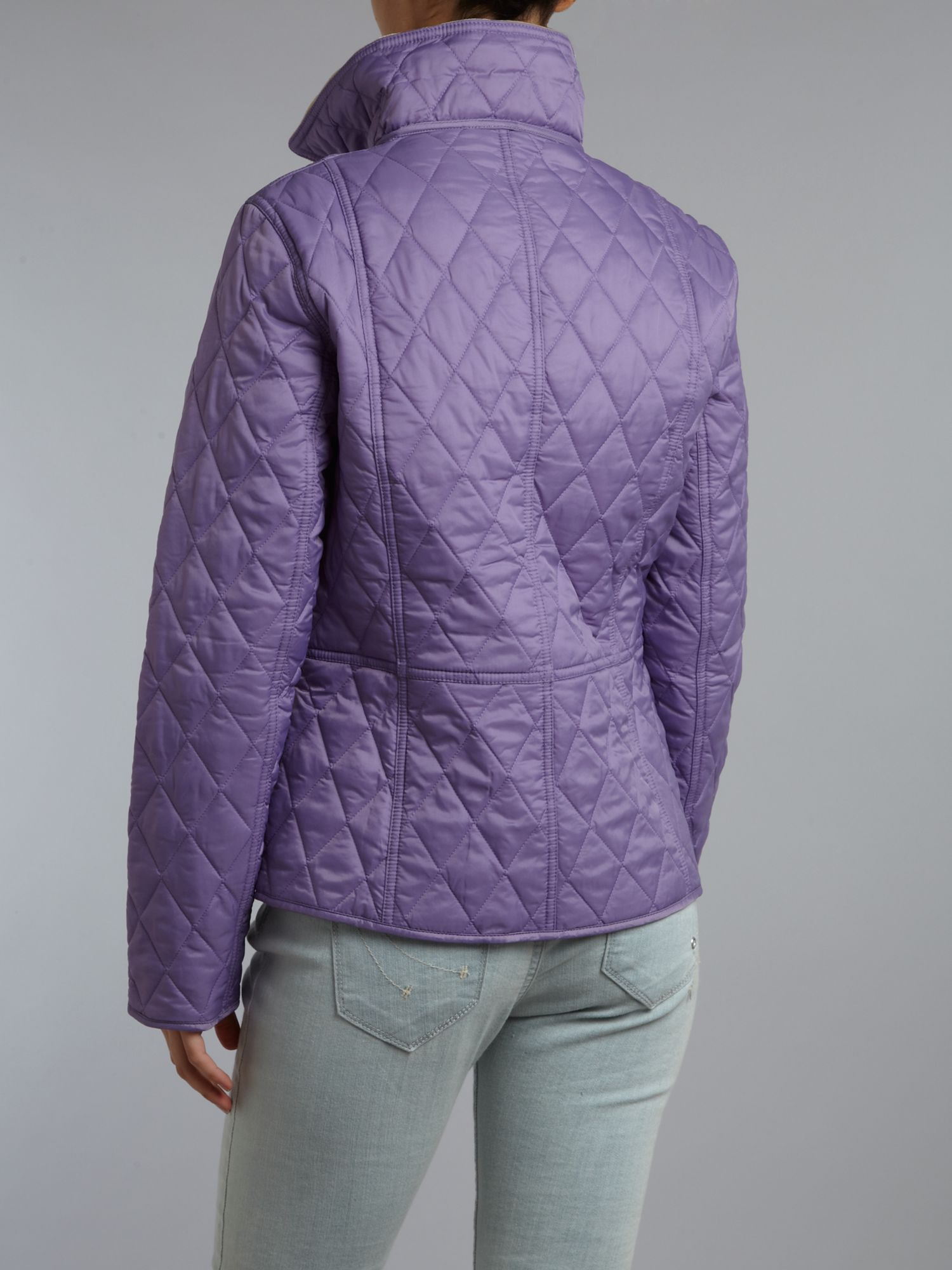 87c3d5a769e Jacket Quilted Purple Summer Lyst Liddesdale Barbour In Ia7q7wAF