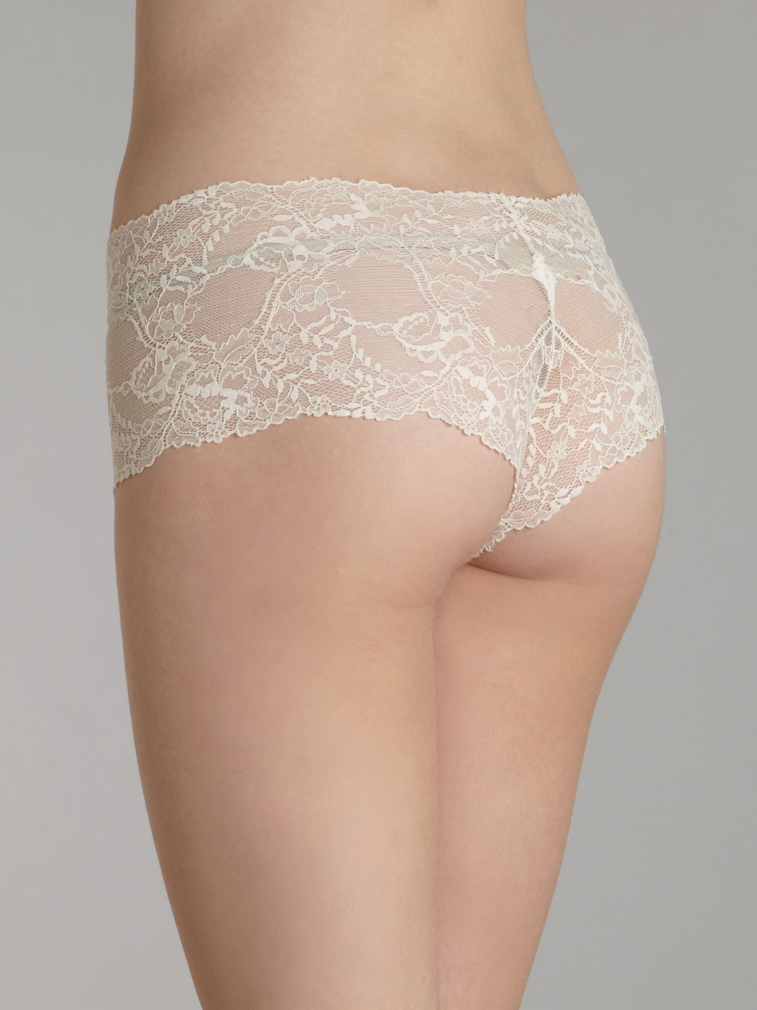 Calvin klein Seductive Comfort All Lace Hipster Briefs in White | Lyst