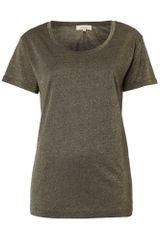 Linea Weekend Ladies Metallic Jersey Tshirt - Lyst