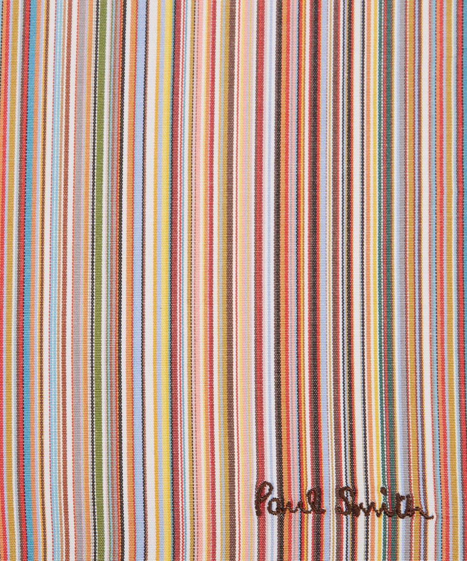 Lyst Paul Smith Multicolour Stripe Cotton Handkerchief